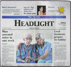 Deming Headlight. The ...