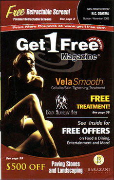 Get 1 free magazine get 1 free is digest sized and for Free home magazines by mail