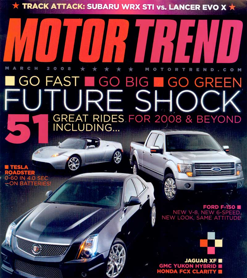 Motor Trend Motor Trend Is An Automotive Publication