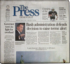 Opinions on The Press Democrat