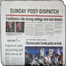 St louis post dispatch newspaper delivery problem