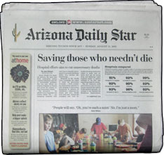 Tucson arizona daily star the tucson arizona daily star is in the