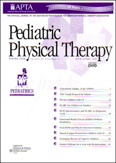 Physical Therapy a research article