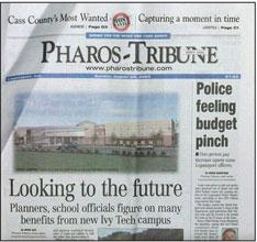pharos tribune paper
