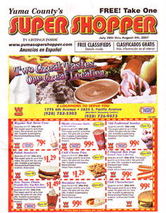 The Shopper offers the highest circulation, the greatest saturation and the most flexibility at the lowest cost per thousands of households reached. While all media have their advantages, The Shopper is designed primarily for advertising efficiency, to get your advertising message to as many of your potential customers as possible.